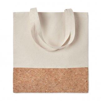 Sac shopping promotionnel en coton et liège - 160g - 38x41cm - à plat - ILLA TOTE
