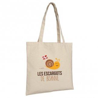 Sac shopping promotionnel en coton naturel - 330g - 38x42cm - KOLKATA