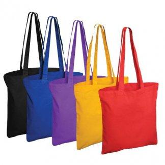 Sac shopping publicitaire en coton coloré sans AZO - 120g - BRIXTON