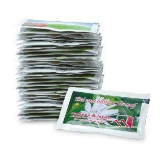 Sachet de graines personnalisé en papier - 8 x 5,5 cm - Empilés - SAMONTE
