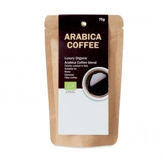 Sachet publicitaire de café moulu bio - ARABICA