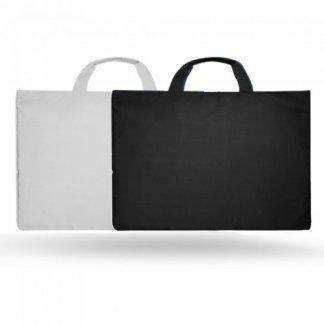 Sacoche promotionnelle en polypropylène recyclé - 2 couleurs - EDSON