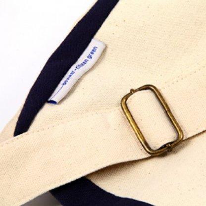 Sacoche Publicitaire En Coton Biologique Bleu FOLIES