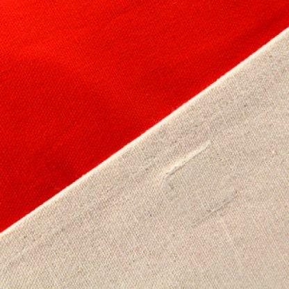 Sacoche Publicitaire En Coton Biologique Rouge FOLIES