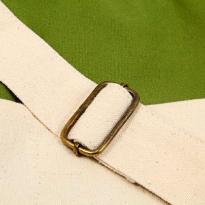 Sacoche Publicitaire En Coton Biologique Vert FOLIES