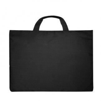 Sacoche publicitaire en polypropylène recyclé - noir - EDSON