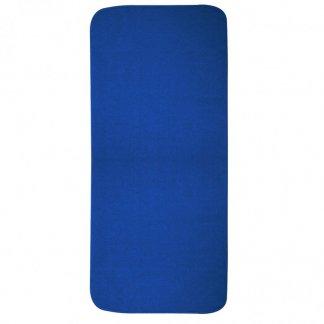 Serviette sport personnalisable en bouteilles plastiques recyclées - 30x80cm - bleu - GYMTO
