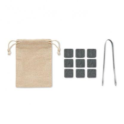 Set 9 Pierres Réutilisables Dans Boite En Bambou DUNDALK Accessoires