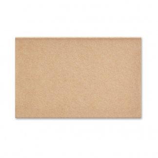 Set mémos avec calendrier dans bloc en carton naturel personnalisé - dessus - MEMOCALENDAR