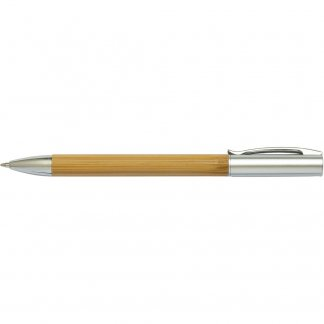 Stylo bille en bambou personnalisable - BAMBOO CUB