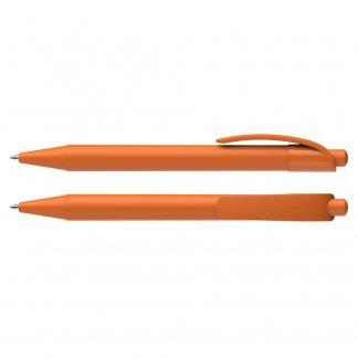 Stylo bille promotionnel en plastique recyclé - orange Opaque - DYNAMIX RECYCLING