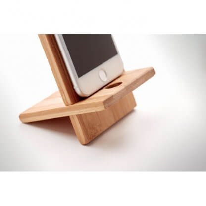Support Smartphone En Bambou WHIPPY Zoom