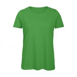 T-shirt femme personnalisable en coton biologique - 140g - Vert - INSPIRE T