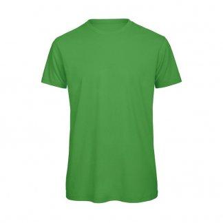 T-shirt homme personnalisé en coton biologique - 140g - Vert - B&C