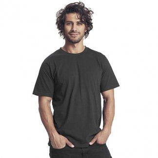 T-shirt unisexe publicitaire en coton biologique - noir - UNISEX REGULAR