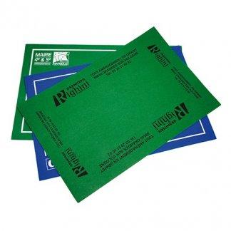 Tapis de cartes publicitaires - TAPCARTE