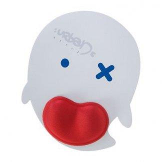 Tapis de souris ergonomique publicitaire à votre forme en gomme antidérapante - tête - ERGOTAPIS
