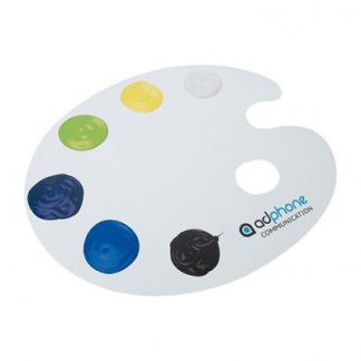 Tapis de souris publicitaire à votre forme en gomme antidérapante - peinture - FORSOURIS