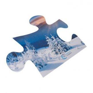 Tapis de souris publicitaire à votre forme en gomme antidérapante - puzzle - FORSOURIS