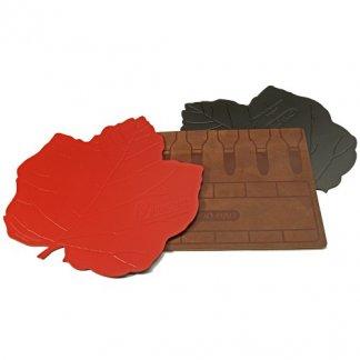 Tapis de souris publicitaire en cuir recyclé - MATHER