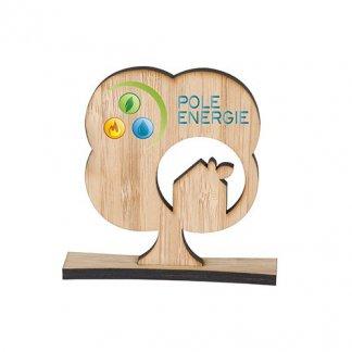Trophée à votre forme en bambou - arbre - COUPE
