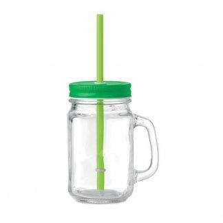 Verre à smoothie personnalisable - 450ml - vert - TROPICAL TWIST