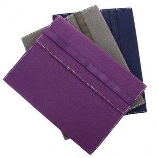 Conférencier / porte-tablette A4 publicitaire en coton recyclé - 3 coloris - PAPERSCREEN