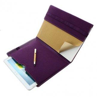 Conférencier / porte-tablette A4 publicitaire en coton recyclé - PAPERSCREEN
