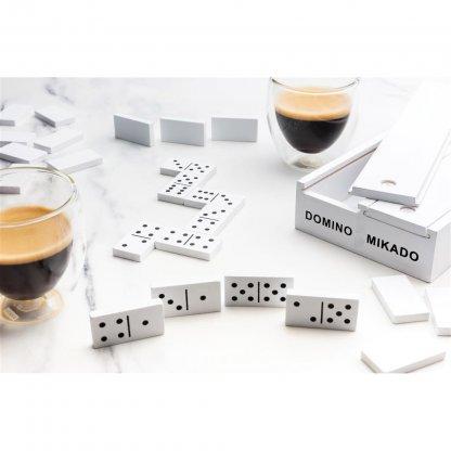 Jeu De Mikado Et Domino Dans Boite En Bois DELUXO Domino