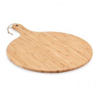 Planche à Découper Personnalisable En Bambou Avec Poignée SERVE