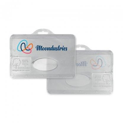 Porte Badge En Bioplastique BADGE HOLDER Avec Marquage