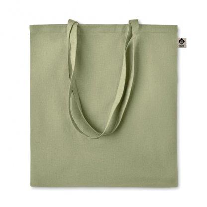 Sac Shopping En Coton Biologique 140g 38x42cm ZIMDE Vert