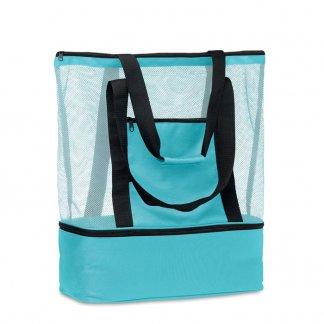 Sac Shopping Ou Sac De Plage Personnalisable En Bouteilles Plastiques Recyclées MALLA Bleu
