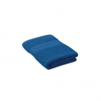 Serviette Publicitaire En Coton Biologique 100x50mm TERRY Bleu