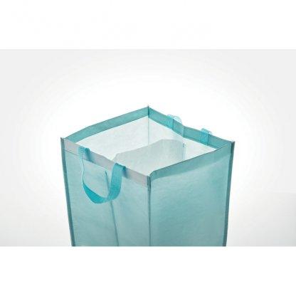 Set De 3 Sacs à Déchets En Bouteilles Plastiques Recyclées THREE BIN Intérieur
