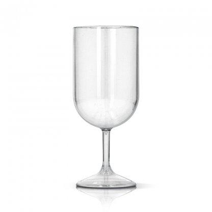 Verre à Vin En Tritan 180ml TRANSPARENT WINEGLASS Sans Marquage
