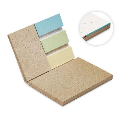 Bloc Notes En Papier Herbe, Marqueurs Et Couverture à Planter GROW ME