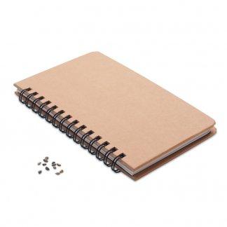 Carnet A5 Publicitaire En Papier FSC Avec Graines De Pin GROWNOTEBOOK