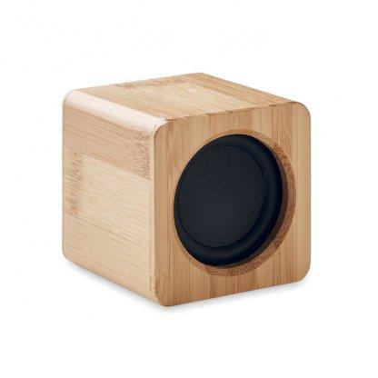 Enceinte Bluetooth En Bambou AUDIO