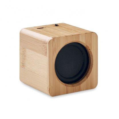 Enceinte Bluetooth En Bambou AUDIO Côté