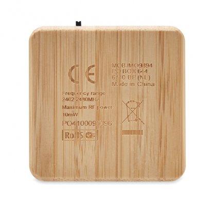 Enceinte Bluetooth En Bambou AUDIO Zoom Arrière