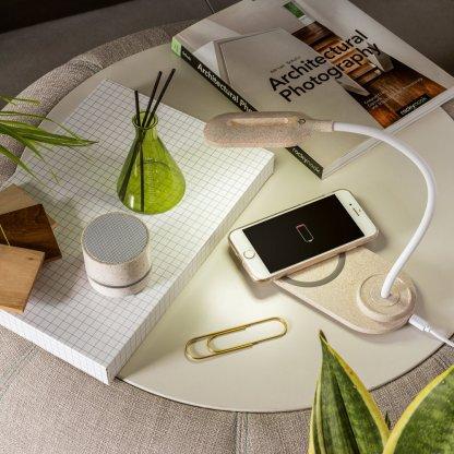 Enceinte Bluetooth En Paille De Blé LINEU En Situation