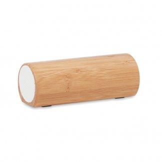 Enceinte Stéréo Bluetooth Publicitaire En Bambou SPEAKBOX
