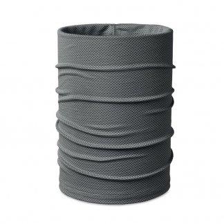 Foulard Multifonctions Personnalisable En PET Recyclé DARIA COOL Gris