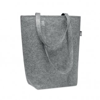 Sac Shopping Promotionnel En Feutre PET Recyclé 40x42x15cm TASLO