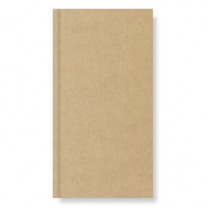 Agenda De Poche En Papier Recyclé 9x17cm ECOKRAFT