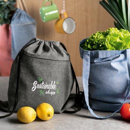 Gym Bag En Coton Recyclé 150g CHANCERY En Situation