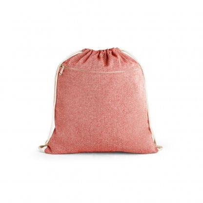 Gym Bag En Coton Recyclé 150g CHANCERY Rouge
