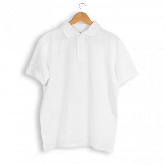 Polo Mixte Publicitaire En Coton Biologique 220g ALBERTIN Blanc