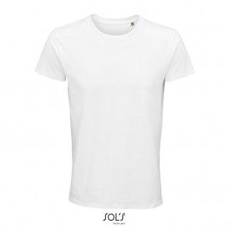 T Shirt Homme Publicitaire En Coton Biologique 150g CRUSADER MEN Blanc